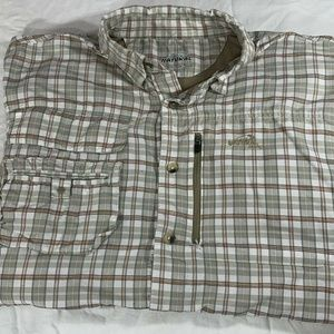 Natural Gear Large Mens Button Front